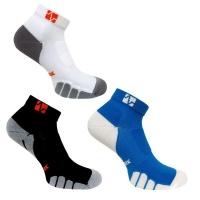 Compression Vitalsox Ankle 3 Set Blue/Black/White Small Photo