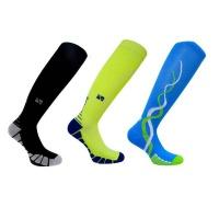 Compression Vitalsox Knee 3 Set Black/Yellow/Blue Medium Photo