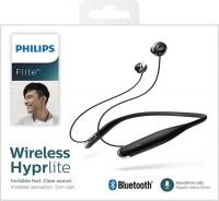 Philips Neckband Style Bluetooth Headphones - Black Photo
