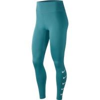 Nike Women's Swoosh Running Tights - Green Photo