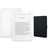 Kindle Amazon Touchscreen Wi-Fi With Built-in Light White Bundle Photo