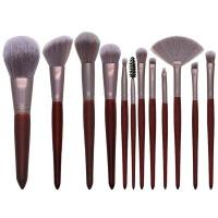 12 Pieces Professional Makeup Brush Kit Photo
