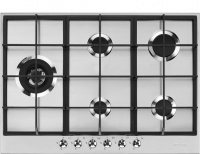 Smeg 75cm Stainless Steel Classic 5 Burner Gas Hob - PX375LSA Photo