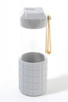 George & Mason DEL Keyboard-Inspired Glass Water Bottle Photo