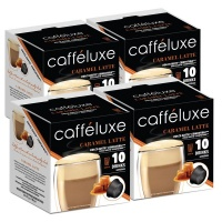 Dolce Gusto Capsules Compatible Caramel Latte Coffee 40 Value Pack Photo