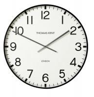 Thomas Kent Smith Arabic Round Analog Wall Clock - White Photo