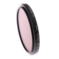 E Photographic E-Photographic 46mm HD ND2-ND400 Filter With Ultra-Thin Frame Photo