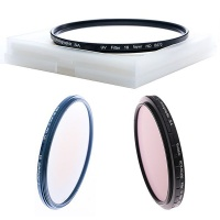 E Photographic E-Photographic 82mm multicoated HD ND2-ND400 CPL & UV Filter Kit Photo