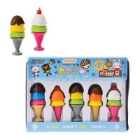 Bulk Pack x 4 Scented Ice-Cream Eraser 5 Piece Per Pack Photo