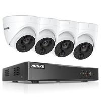 Techdeals Annke 8CH 4 Dome Camera PSU & Cable Photo