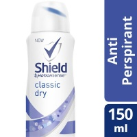 Shield Women Classic Dry Anti Perspirant Aerosol - 150ml Photo