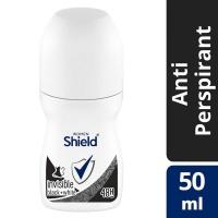 Shield Women Invisible Black White Antiperspirant Roll-On - 50ml Photo