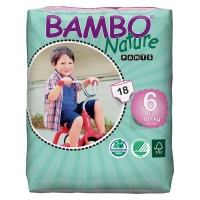 Bambo Nature - Training Pants 18 nappies Size 6 Fits 18 kg Photo