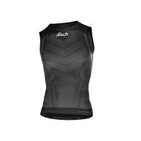 Ftech Carbon Light Underwear Sleeveless T-Shirt - Black Photo