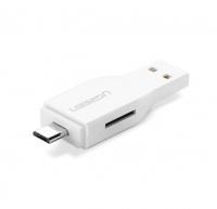 UGreen 2-In-1 USB2.0 & Micro USB OTG Card Reader Photo