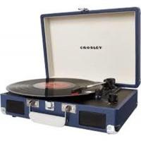 Crosley Cruiser Deluxe Turntable - Blue Photo