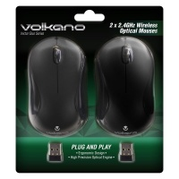Volkano Vector Duo Wireless Mouse - Pack of 2 Photo