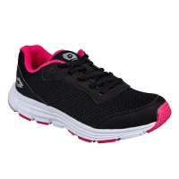 Lotto Women's Speedride 500 Running Shoes V-Black & Pink Photo