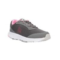 Lotto Women's Speedride 500 V Running Shoe -Grey & Pink Photo