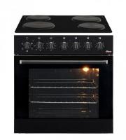 Univa Under Counter Oven & Solid Plate Hob - U336B - Black Photo