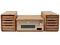 Bamboo Compact Audi Hi-Fi System Photo