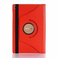 Samsung Rotate Case Stand For Galaxy Tab S5e Red Photo