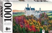 Neuschwanstein Castle in Autumn 1000 Piece Photo