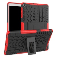 Samsung Rugged Hard Cover Stand for Galaxy Tab A 10.1 Red Photo