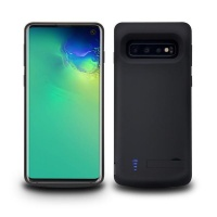 Samsung TUFF-LUV Extended Battery Case for Galaxy S10 - Black Cellphone Photo