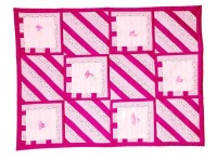 Baby Comforter - Ceris Pink Photo