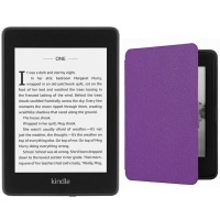 Kindle Paperwhite 10th Gen Wi-Fi With S/O 8GB - Purple Cover Bundle Photo