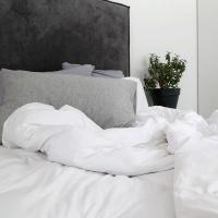 Scandinavian White Duvet Cover Set Photo