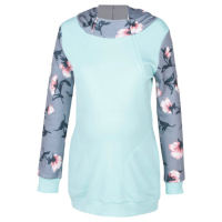 Foxy Mama floral nursing friendly hoodie Photo