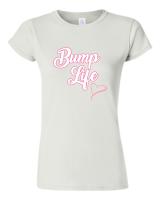 Pic-a-Tee Family Life Range White T-shirt Bump Life Girl Photo
