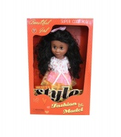 Just Like Me Diverse Africa Fashion Doll - Floral Princess Photo