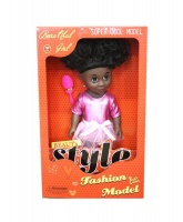 Just Like Me Diverse Africa Fashion Doll - Afro Love Photo