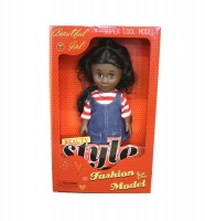 Just Like Me Diverse Africa Fashion Doll - Adventures Photo