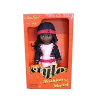 Just Like Me Diverse Africa Fashion Doll - Denim Dreams Photo