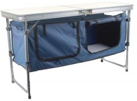 Camping Aluminium Folding Table with Cupboard Photo