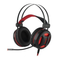 Redragon MINOS Virtual 7.1 Wired USB PC Gaming Headset - Black Photo