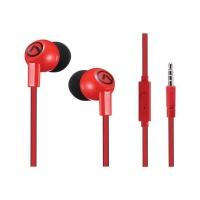Amplify New Walk the Talk Series Earphones - Red/Black Photo