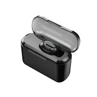Single Ear Mini Bluetooth Headset With Charging Compartment Photo