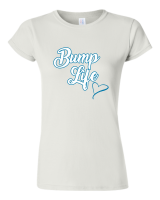 Pic-a-Tee Family Life Range White T-shirt Bump Life Boy Photo
