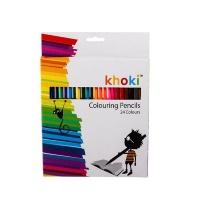 Bulk Pack X 3 Long Pencil Crayons 18cm 24 Colours Photo