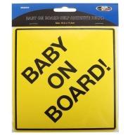 Motoquip Baby On Board Sticker Photo