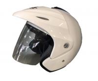 VR-1 Gloss White TA365 Helmet Photo