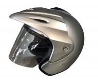 VR-1 Gloss Silver TA365 Helmet Photo