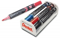 Pentel Maxiflo FLEX-FEEL Whiteboard PUMP IT Action Magnetic Duster Set Photo