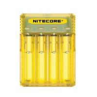 Nitecore Q4 Battery Charger - Yellow Photo