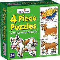 Creative's 4 Piece Puzzles Photo